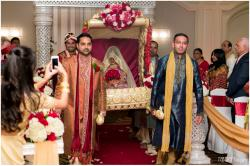 37-hilton-irvine-orange-county-indian-wedding-photography-bride-grand-entrance-doli-pictures